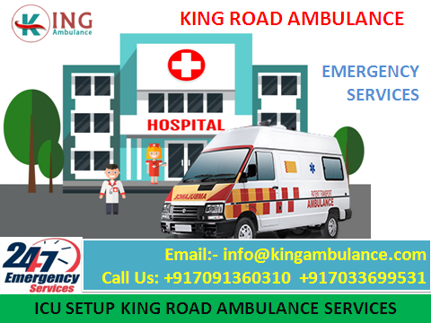 Most Trusted King Road Ambulance Service in Darbhanga-Services-Health & Beauty Services-Health-Darbhanga