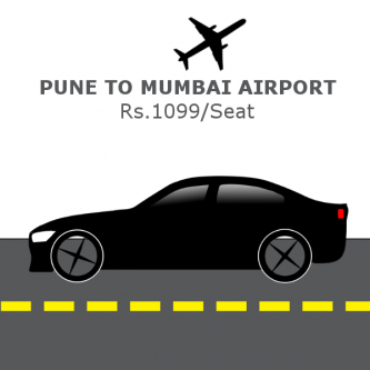 Pocket Friendly Pune to Mumbai Airport Shared Cab-Services-Travel Services-Pune