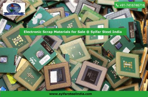 Electronic Scrap Materials for Sale Syifar Steel India-Services-Automotive Services-Hyderabad