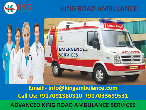 More Comfortable Ambulance Service in Muzaffarpur by King-Services-Health & Beauty Services-Health-Muzaffarpur