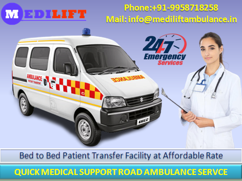 Advanced Ambulance Service in Boring Road Patna at Low Cost-Services-Health & Beauty Services-Health-Patna