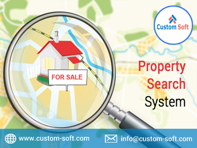 Property Search System By CustomSoft-Services-Web Services-Pune