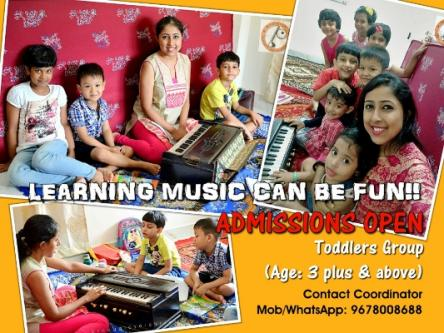 Nov 22nd – Mar 22nd (Sun) – FUN-FILLED MUSIC SESSIONS FOR TODDLERS-Classes-Art Music & Dance Classes-Singing Lessons-Guwahati