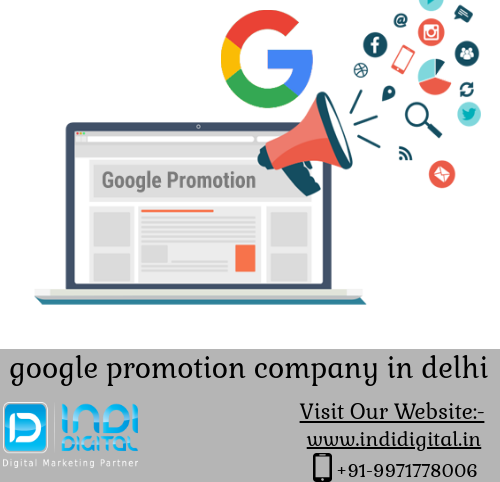 Get the best google promotion company in delhi-Services-Web Services-Ghaziabad