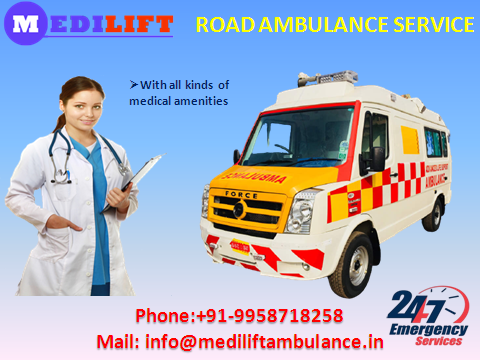 Medilift Ambulance Service in Kidwaipuri Patna at Low Cost-Services-Health & Beauty Services-Health-Patna