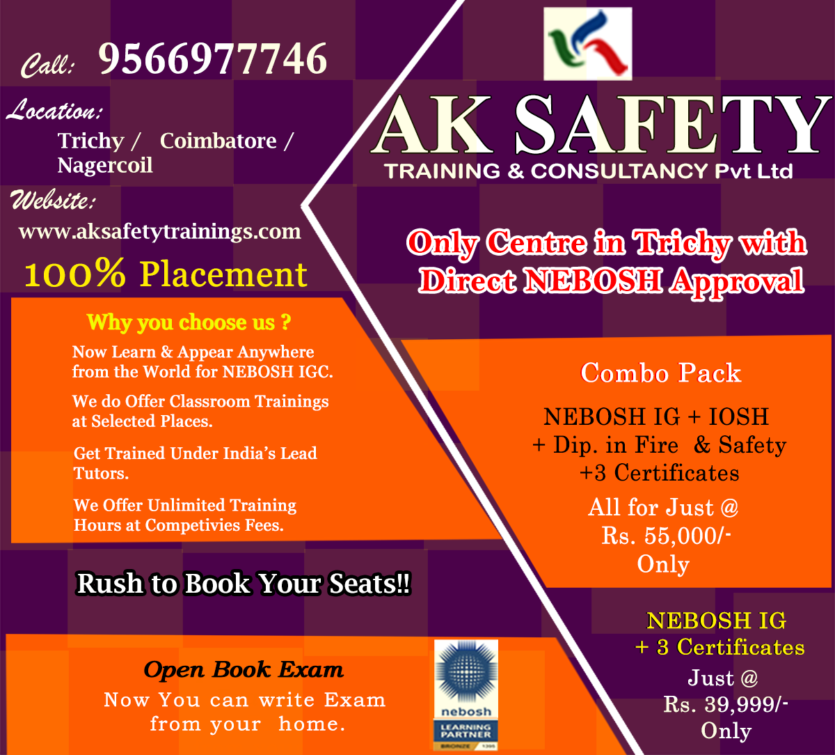 AK SAFETY TRAINING AND CONSULTANCY-Services-Other Services-Trichy