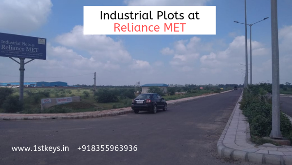 Reliance MET Industrial Plots Price-Real Estate-For Sell-Land for Sale-Delhi