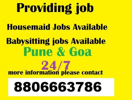 Require a house maid female ,24 hrs for kitchen & other in pune-Jobs-Service-Pune