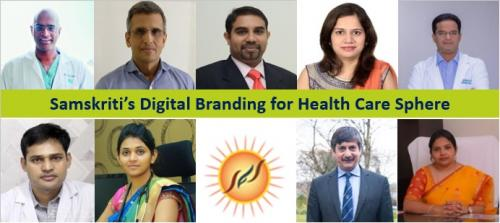 Samskriti's Digital Branding for Health Care Sphere-Services-Web Services-Hyderabad