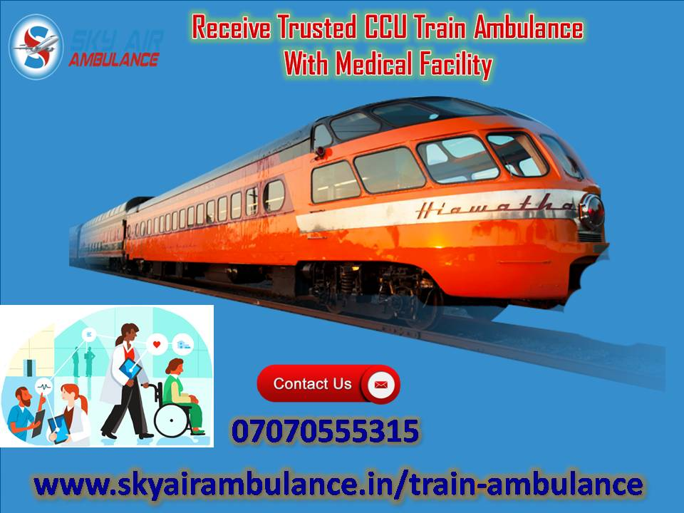 Utilize Train/Rail Ambulance Service in Mumbai -Services-Health & Beauty Services-Health-Mumbai