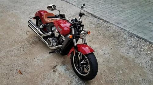 2016 INDIAN SCOUT – 18000 KM DRIVEN IN INDUSTRIAL AREA PHASE I-Vehicles-Motorcycles & Motorbikes-Other Motorbikes-Chandigarh