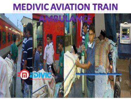 Medivic Aviation Train Ambulance Service in Raipur with Doctor-Services-Health & Beauty Services-Health-Raipur