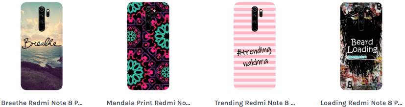 Buy Stylish Redmi Note 8 Pro Back Cover Online @ Hamee India-Services-Other Services-Gurgaon