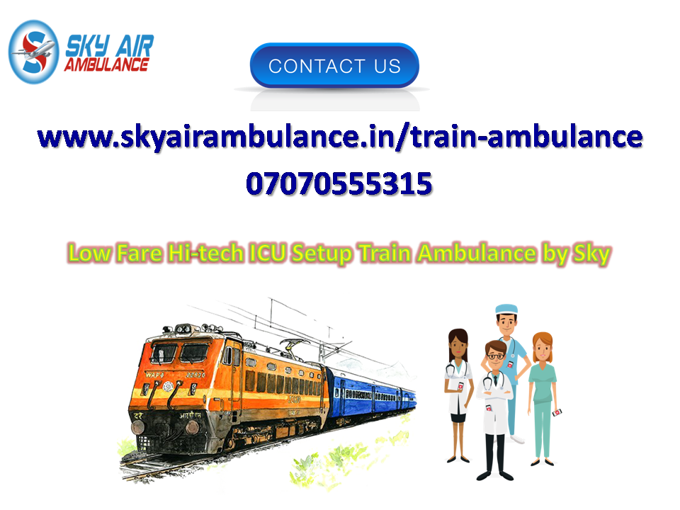 Pick Sky Train Ambulance in Bangalore at Low Budget-Services-Health & Beauty Services-Health-Bangalore