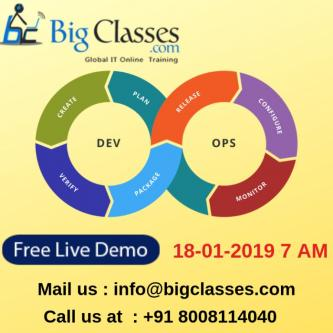 DEVOPS ONLINE TRAINING DEMO on 21 JAN 2019 7 AM-Jobs-Education & Training-Hyderabad