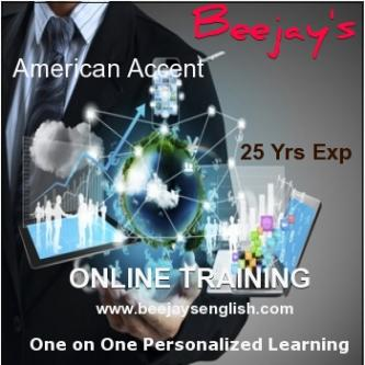 Learn Online American Accent with Intl Coach Beejay-Community-Qualified Trainers-Hyderabad