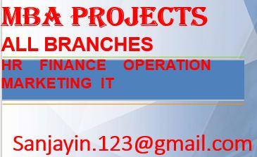 MBA PROJECT Finance, MBA Marketing, MBA HR IT PROJECT-Services-Computer & Tech Help-Imphal