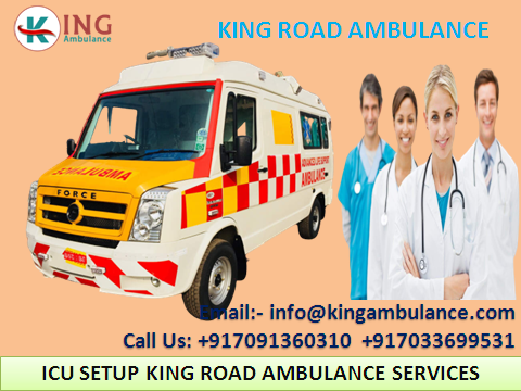 Ground Ambulance Service in Gaya with ICU Setup by King-Services-Health & Beauty Services-Health-Gaya
