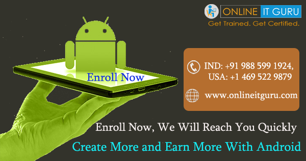 Learn Android development course by industry experts -Classes-Other Classes-Hyderabad