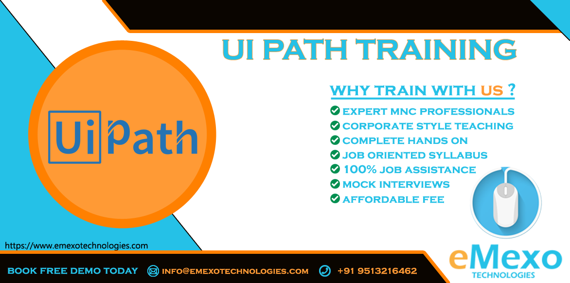 Best RPA - UIPath Training Institute  - eMexo Technologies-Classes-Computer Classes-Programming Classes-Bangalore