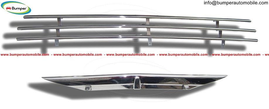 Saab 92 grille bumper by stainless steel -Vehicles-Car Parts & Accessories-Ahmedabad