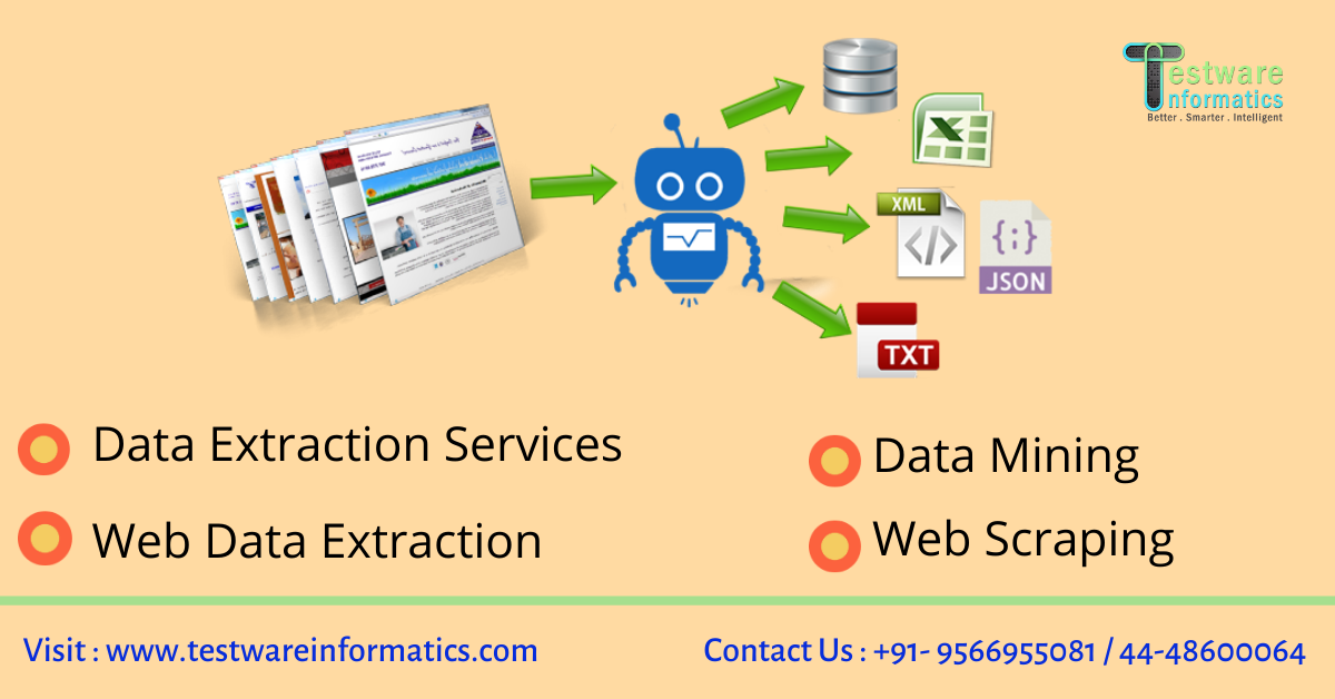 Are you Struggling to convert tons of data into Information-Services-Web Services-Hyderabad
