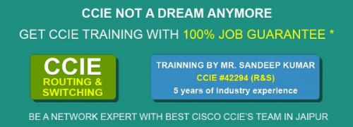 May 18th – Sep 15th – Best ccna ccnp ccie cisco training in jaipur-Community-Qualified Trainers-Jaipur