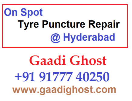 Bike, Car Puncture Service at Home in Kukatpally-Services-Automotive Services-Hyderabad