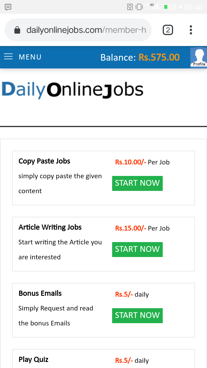 Earn 15 to 20k from home-Jobs-Part Time Jobs-Delhi