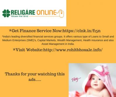 Religare Get Finance Related Service-Jobs-Bankers & Brokers-Pune
