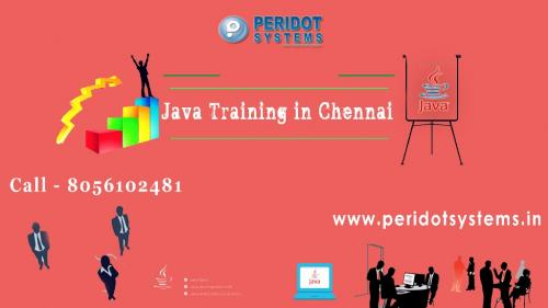 Aug 17th – Dec 15th (Mon) – Peridot Systems Offers Java training in Chennai from IT Experts-Classes-Computer Classes-Programming Classes-Chennai