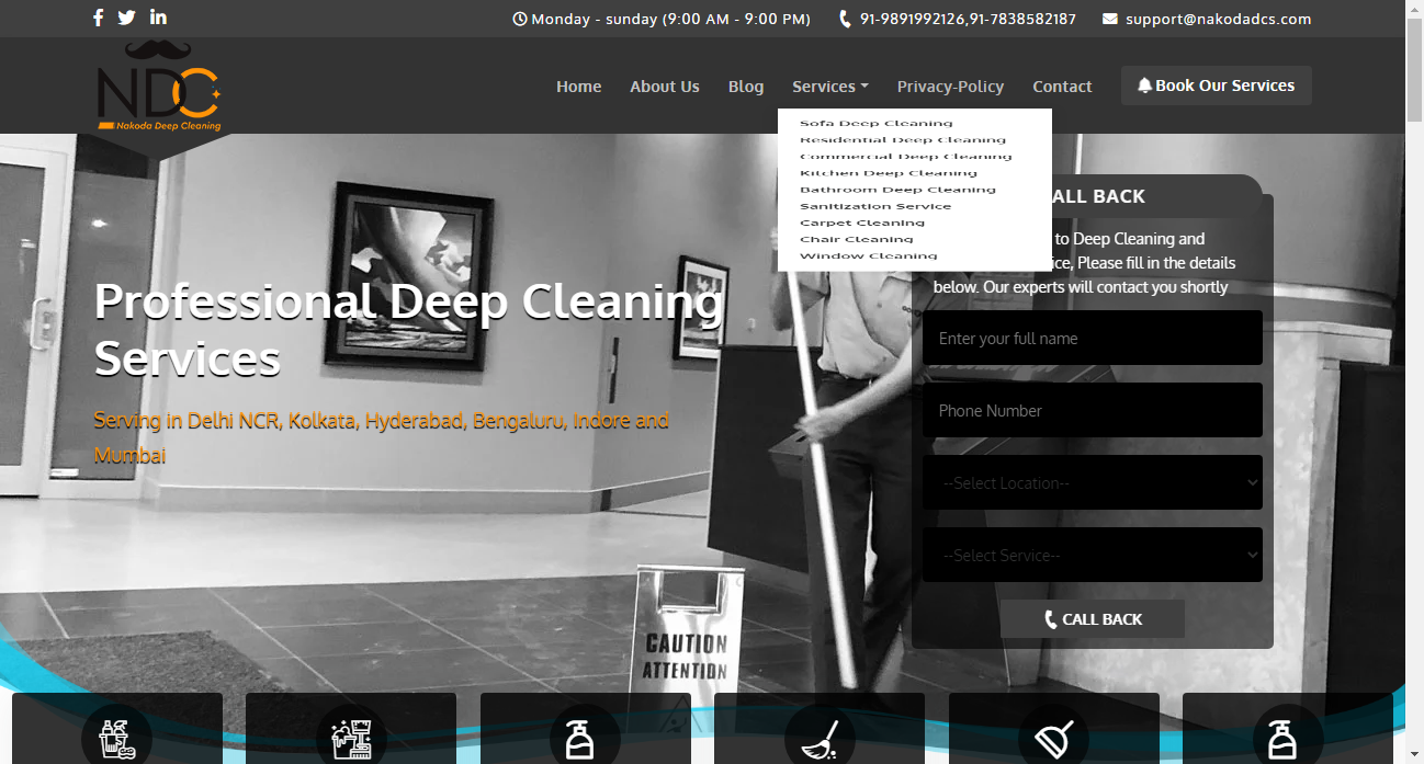 House Cleaning Services in Delhi - Cleaning Services in Delh-Services-Other Services-Gurgaon