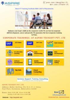 Corporate Training Institute in Pune | Aspire Techsoft-Jobs-Education & Training-Pune