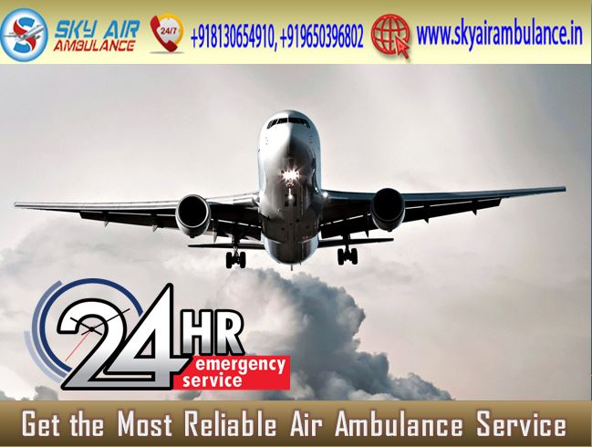 Sky Air Ambulance in Mumbai with Advance Medical Setup-Services-Health & Beauty Services-Health-Mumbai