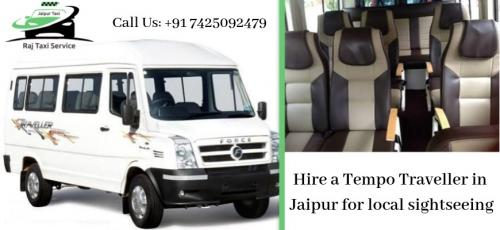 Hire a tempo traveller in jaipur for local sightseeing-Services-Travel Services-Jaipur