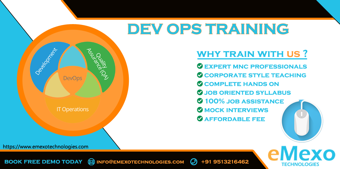 Best DevOps Training Institute in Electronic City - eMexo Te-Classes-Computer Classes-Programming Classes-Bangalore
