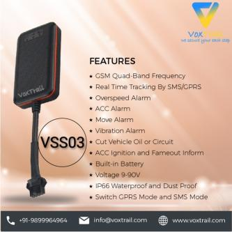 VSS03 GPS tracking device in Goa India-Vehicles-Car Parts & Accessories-Goa