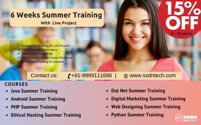 6 Weeks Industrial Training in Chandigarh-Classes-Computer Classes-Other Computer Classes-Chandigarh