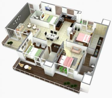 Best 4 bhk flats in zirakpur   LaPrisma-Services-Other Services-Chandigarh