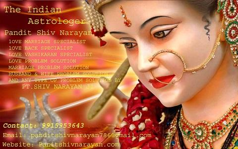 Indian Astrologer love marriage specialist in MumbaI shiv nara.-Services-Esoteric-Chandigarh