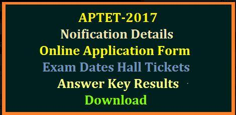 AP TET/Andhra Pradesh Teachers Eligibility Test 2017 Scheme-Jobs-Government & Public Service-Hyderabad