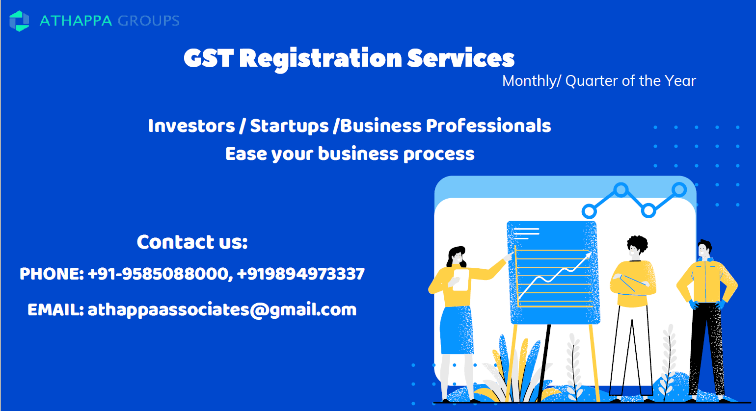 GST registration and accounting Service in coimbatore-Services-Insurance & Financial Services-Coimbatore
