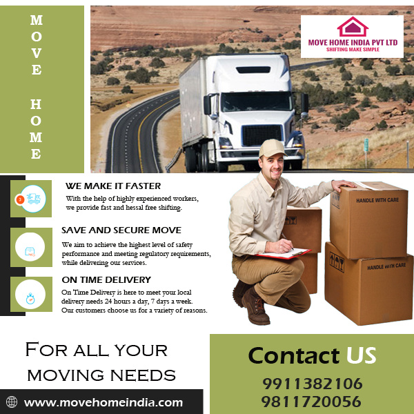 Top 15 Packers and Movers in Gurgaon - Safe and Affordable-Services-Moving & Storage Services-Delhi