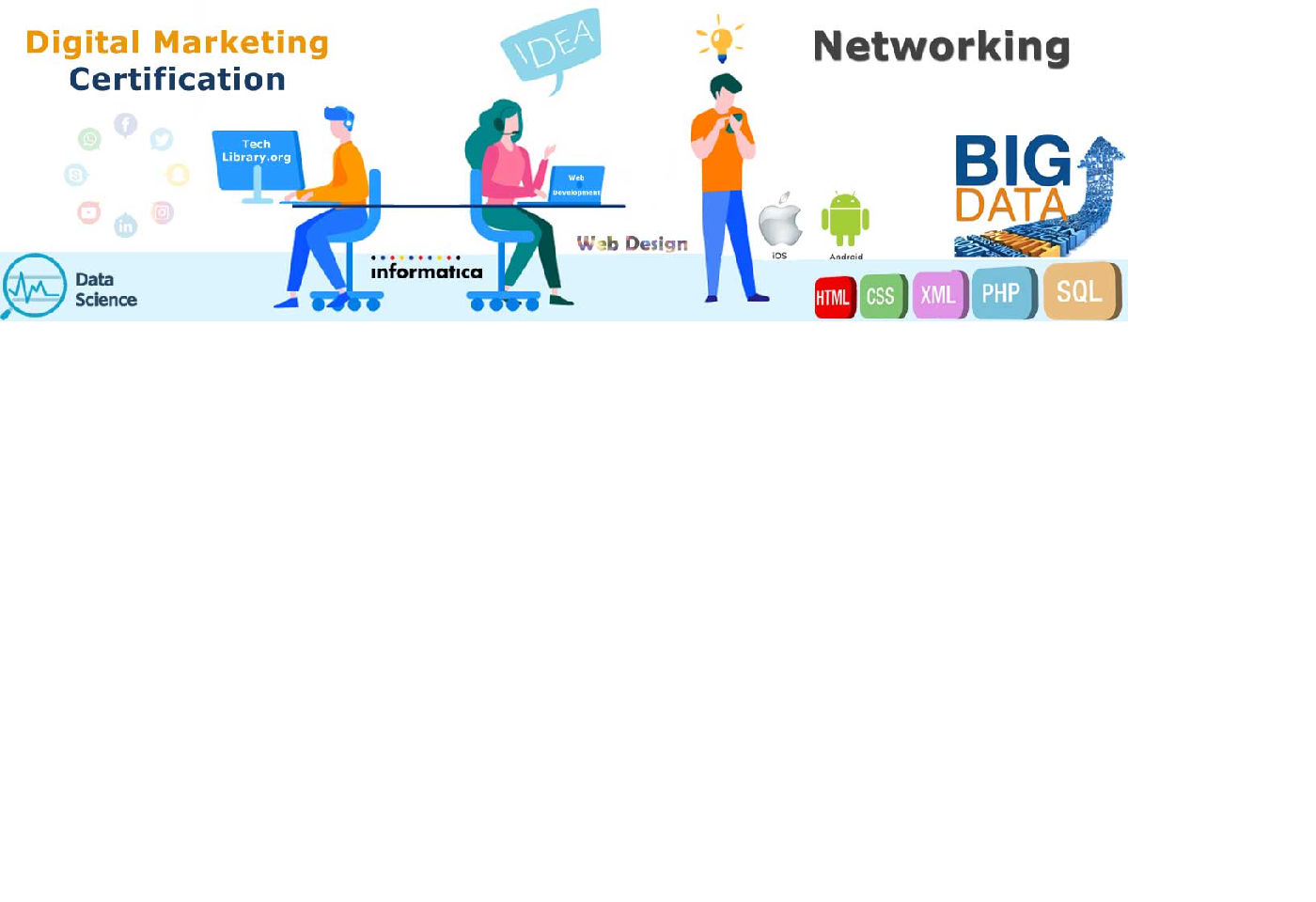 Digital Marketing Course -Networking Certification CCNA -PHP-Classes-Other Classes-Mumbai