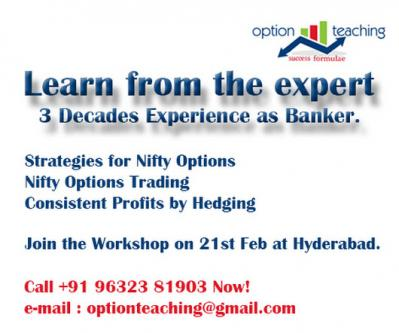 Best Options Trading Tutorial - Options Teaching-Community-Qualified Trainers-Hyderabad