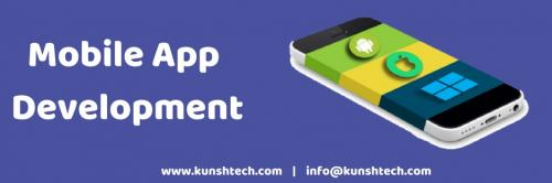 Mobile app development at Kunsh Technologies-Services-Web Services-Ahmedabad