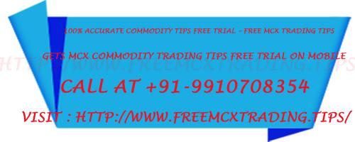 100 Accurate Commodity Tips Free Trial – Free MCX Trading Tips-Services-Insurance & Financial Services-Goa
