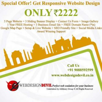 Total Website for Rs.2222 Professional website in just 14 days-Services-Web Services-Imphal