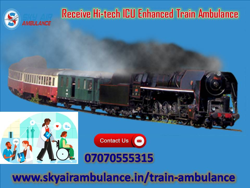 Use Hi-Class ICU Setup Train Ambulance Service in Mumbai-Services-Health & Beauty Services-Health-Mumbai