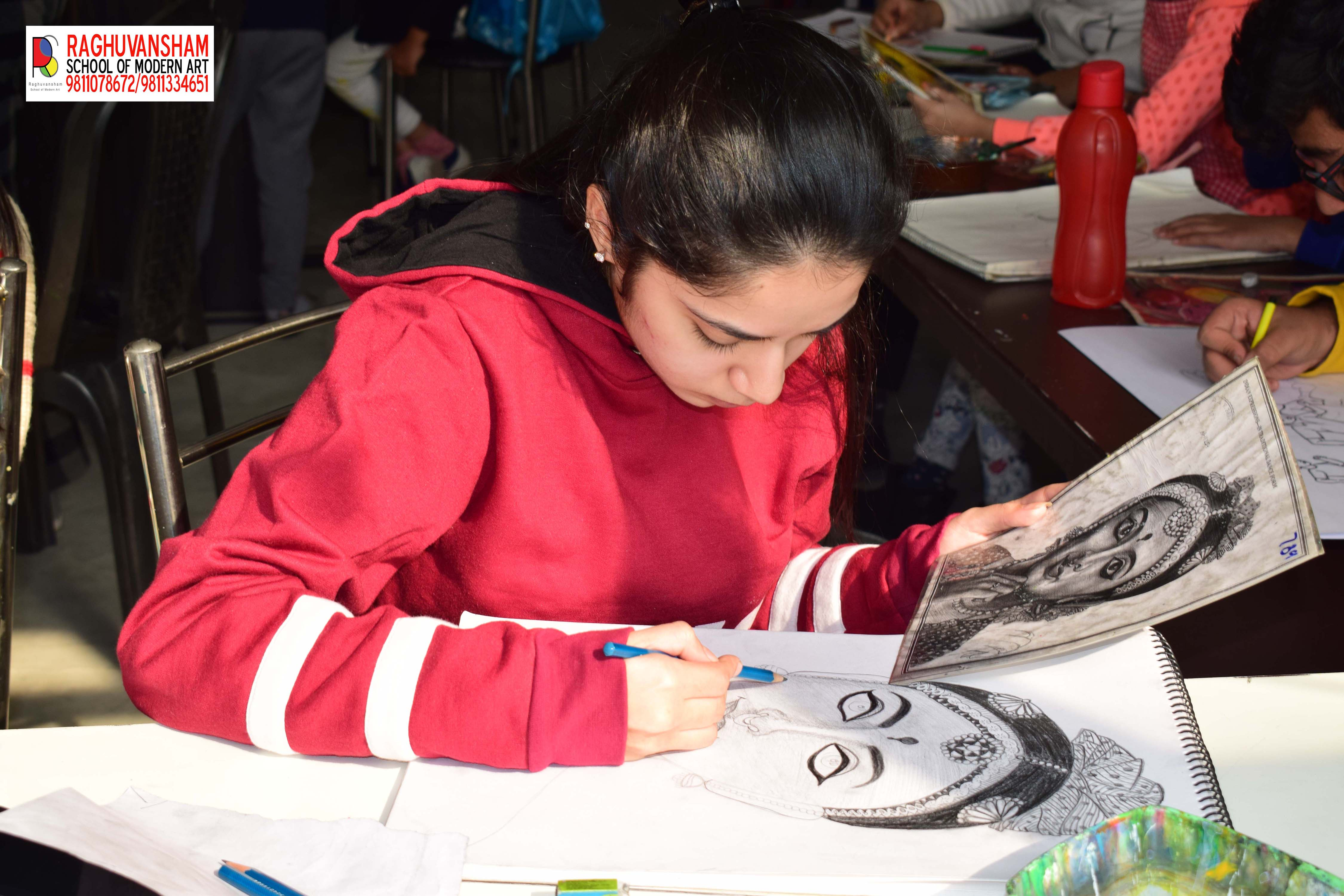 professional sketching coaching in Rohini-Classes-Art Music & Dance Classes-Arts Classes-Delhi